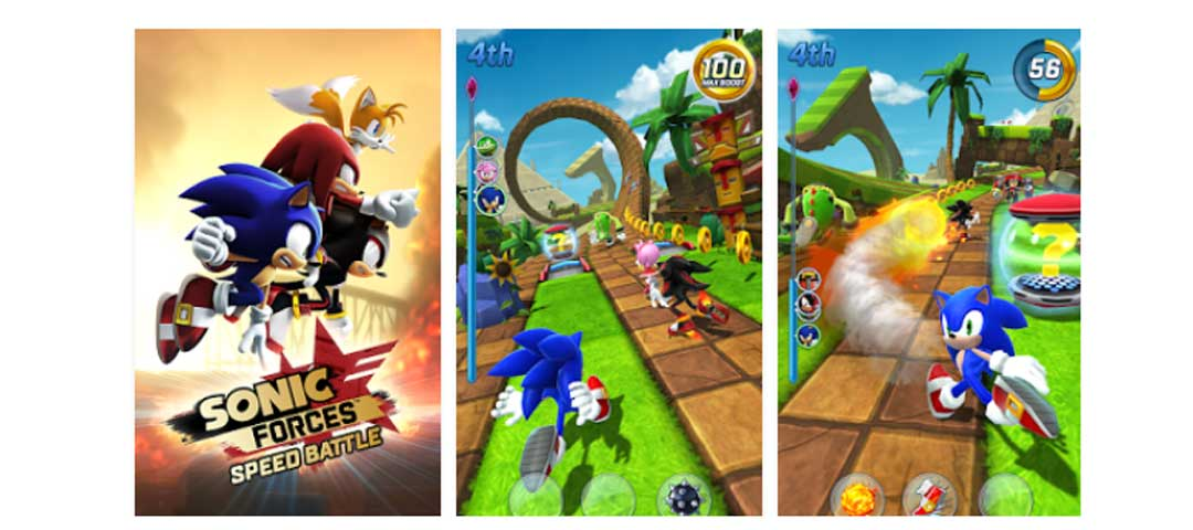 Sonic Forces Speed Battle Apk for Android