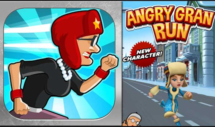 Angry Gran Run – Running Game Apk Mod for Android