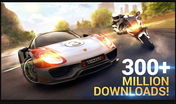 Asphalt 8 Airborne Apk for Android
