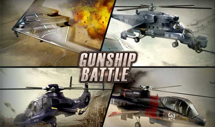 GUNSHIP BATTLE Helicopter 3D Apk + Mod for Android