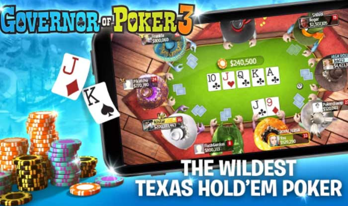 Governor of Poker 3 – Texas Holdem Poker Online Apk for Android
