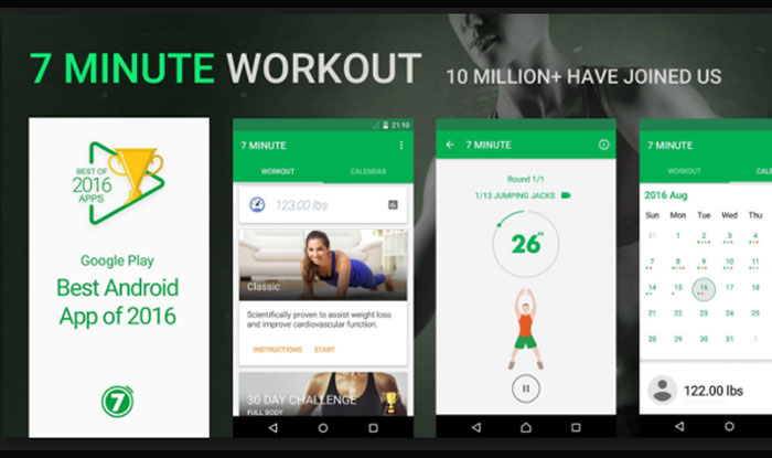 7 Minute Workout APK for Android