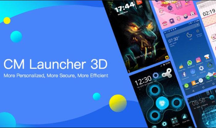 CM Launcher 3D Theme, Wallpaper, Secure, Efficient APK for Android