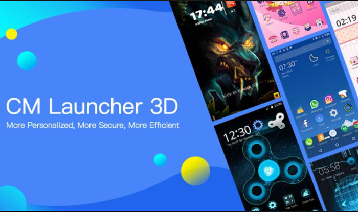 CM Launcher 3D Theme, Wallpaper, Secure, Efficient APK for Android