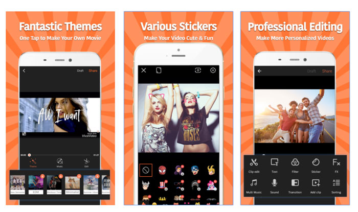 VivaVideo – Free Video Editor & Photo Video Maker APK for Android