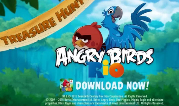 Angry Birds Rio APK android - www bestmodapk com
