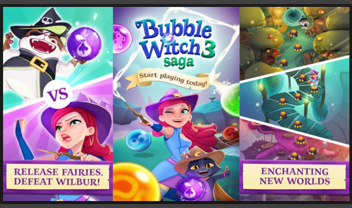 Bubble Witch 3 Saga APK for Android