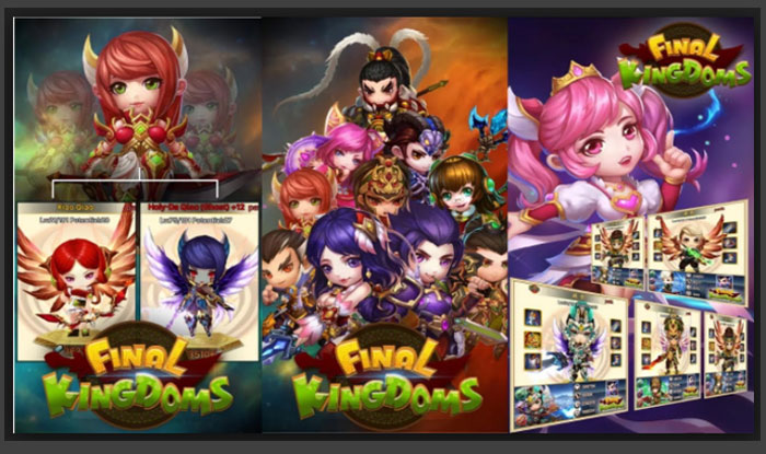 Final Kingdoms: Darkgold Descends! APK for Android