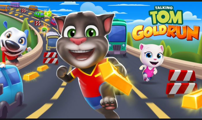 Talking Tom Gold Run Apk for Android