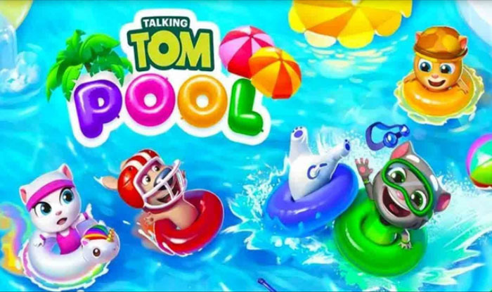 Talking Tom Pool Apk for Android