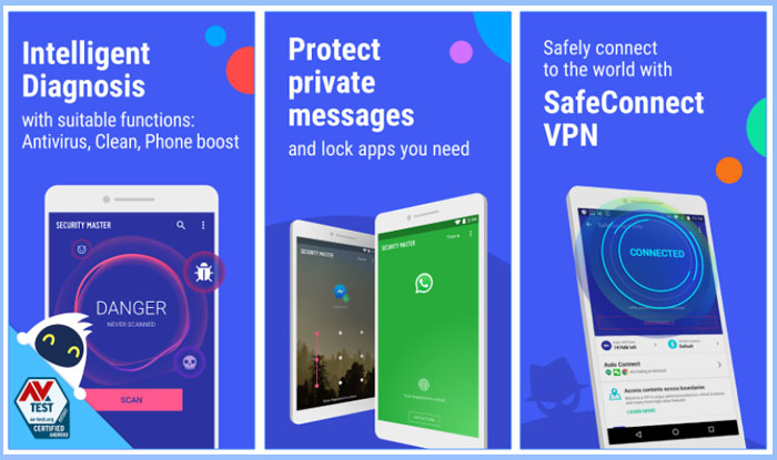 Security Master – Antivirus, VPN, AppLock, Booster Apk for Android