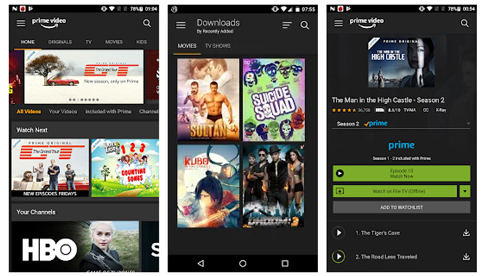 Amazon Prime Video Apk Version – 3.0.240.23241 for Android
