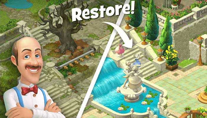 Gardenscapes – New Acres 2.9.2 Apk + Mod (Unlimited Coins) for android