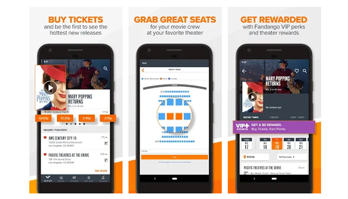 Download Fandango Apk Movie Tickets & Times v8 8 1 for Android